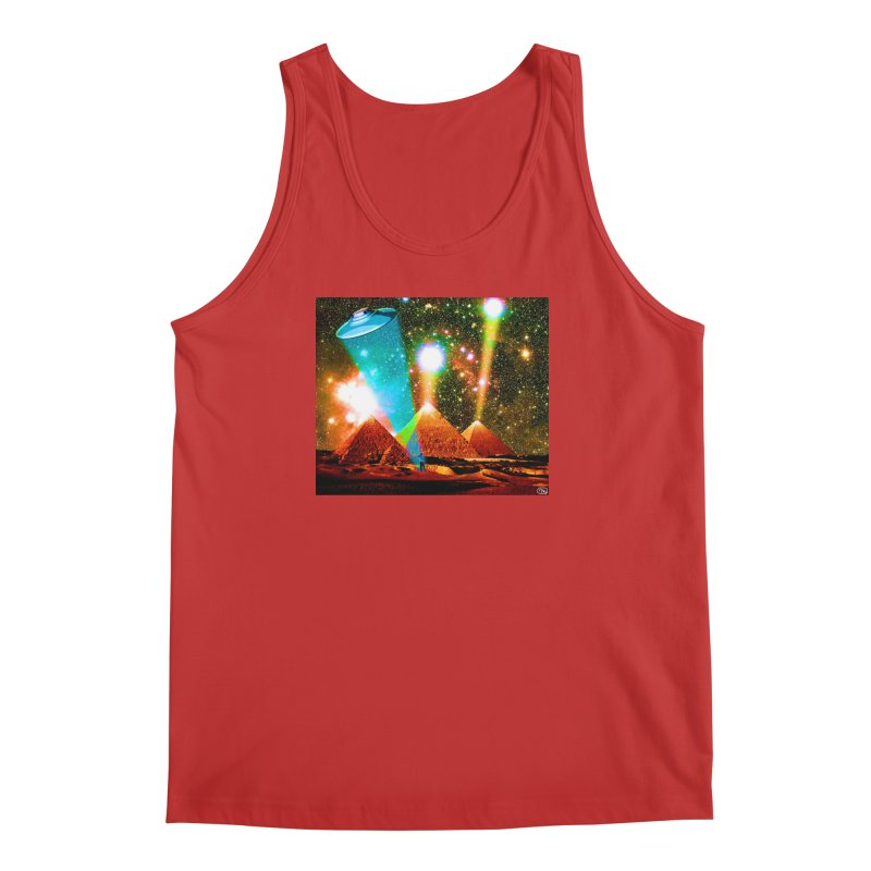 The Pyramids of Giza Aligning with Orion's Belt Men's Regular Tank by InspiredPsychedelics's Artist Shop
