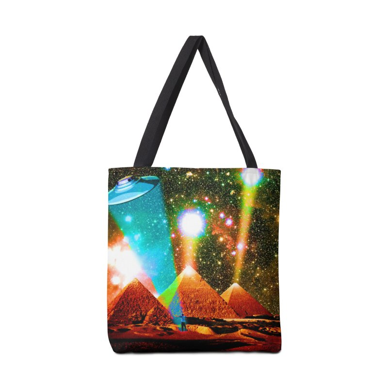 The Pyramids of Giza Aligning with Orion's Belt Accessories Tote Bag Bag by InspiredPsychedelics's Artist Shop