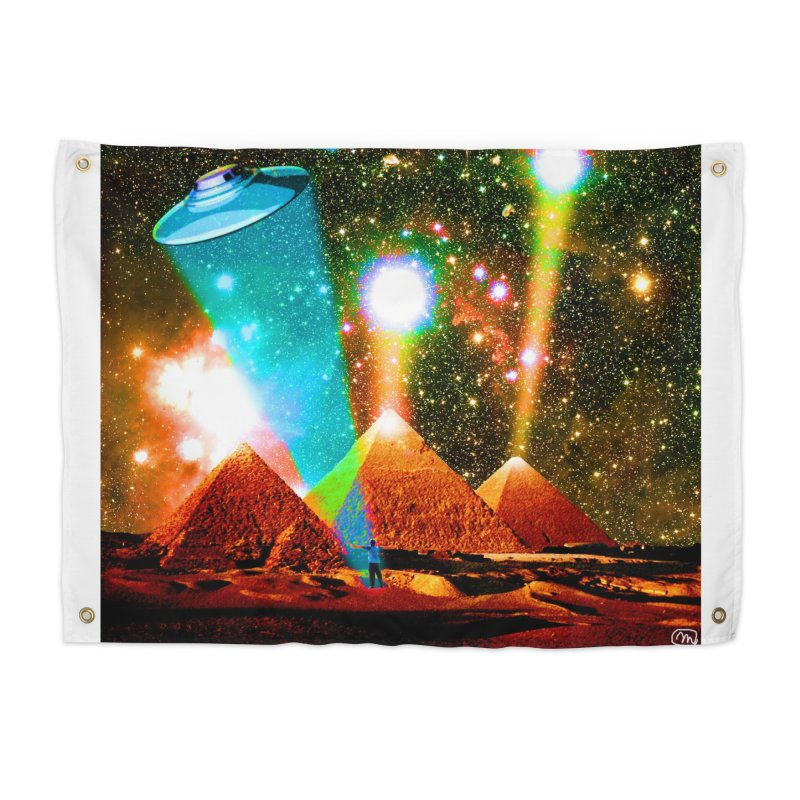 The Pyramids of Giza Aligning with Orion's Belt Home Tapestry by InspiredPsychedelics's Artist Shop