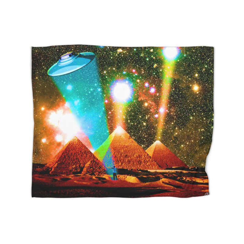 The Pyramids of Giza Aligning with Orion's Belt Home Blanket by InspiredPsychedelics's Artist Shop