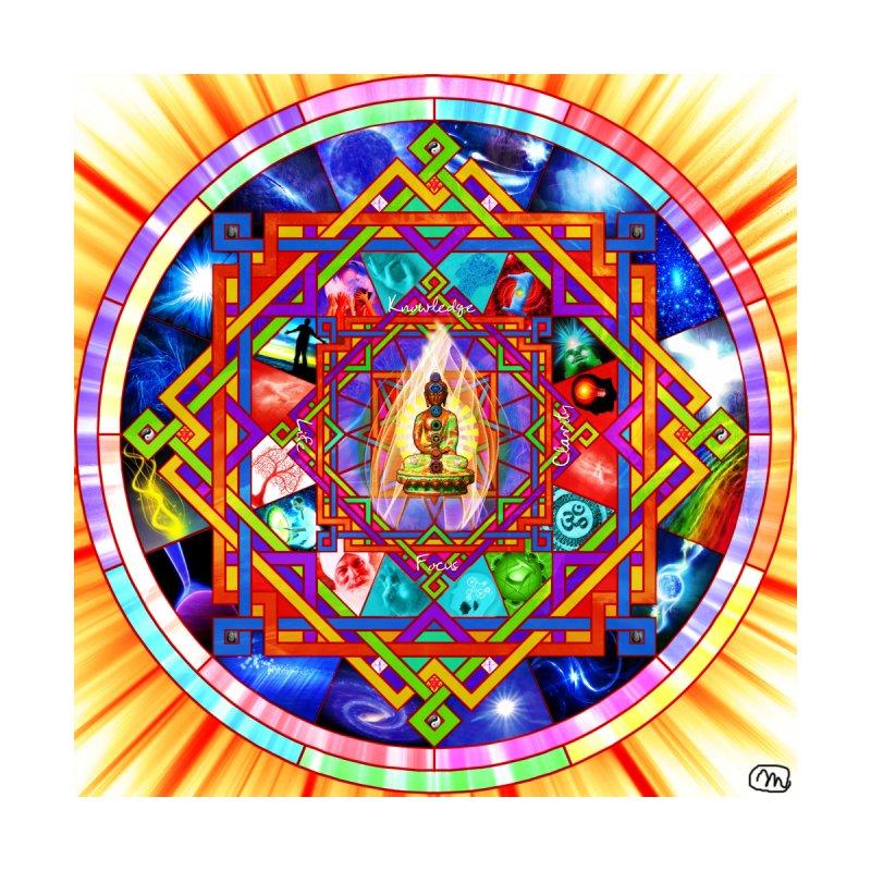 Kundalini Yoga Mandala Wall Art by InspiredPsychedelics's Artist Shop