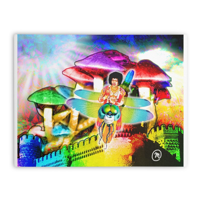 Spanish Castle Magic Wall Art and Accessories Home Stretched Canvas by InspiredPsychedelics's Artist Shop