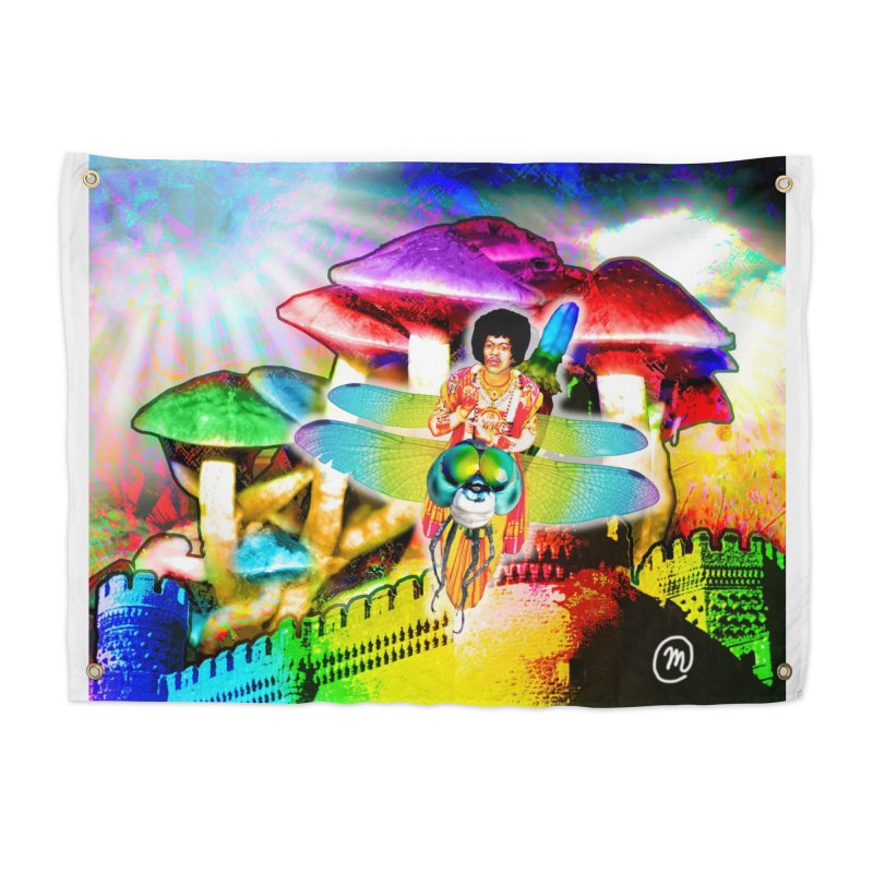 Spanish Castle Magic Wall Art and Accessories Home Tapestry by InspiredPsychedelics's Artist Shop