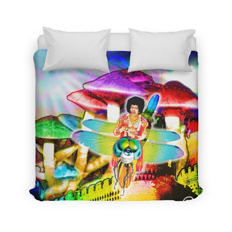 Spanish Castle Magic Wall Art and Accessories Home Duvet by InspiredPsychedelics's Artist Shop