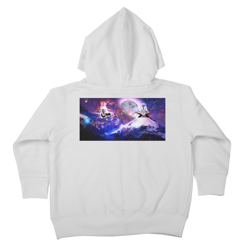 Meditation on the Mountain with Universe Kids Toddler Zip-Up Hoody by InspiredPsychedelics's Artist Shop