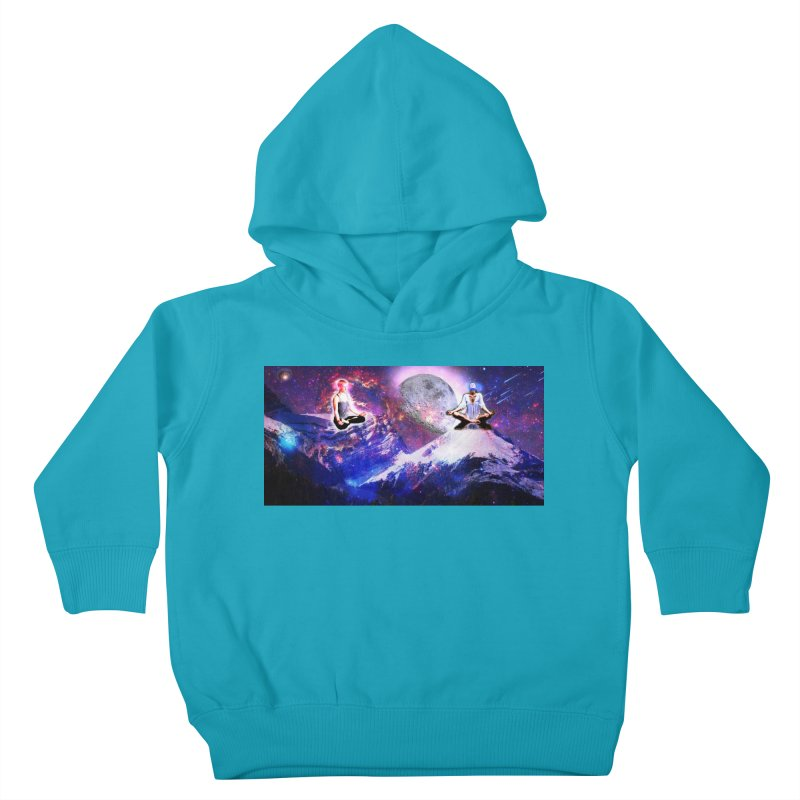 Meditation on the Mountain with Universe Kids Toddler Pullover Hoody by InspiredPsychedelics's Artist Shop
