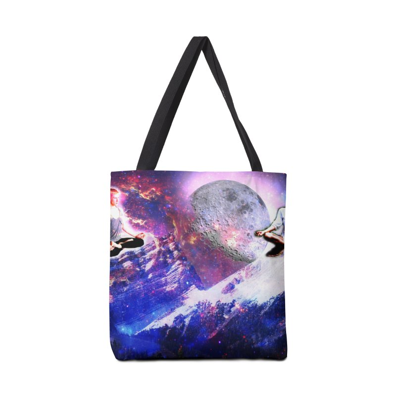 Meditation on the Mountain with Universe Accessories Bag by InspiredPsychedelics's Artist Shop