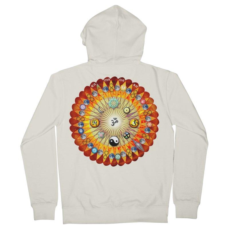 Ra Ma Da Sa Sa Say So Hung Mandala Women's French Terry Zip-Up Hoody by InspiredPsychedelics's Artist Shop