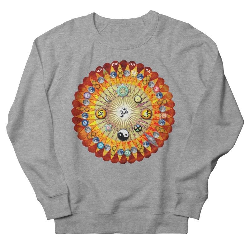 Ra Ma Da Sa Sa Say So Hung Mandala Men's French Terry Sweatshirt by InspiredPsychedelics's Artist Shop