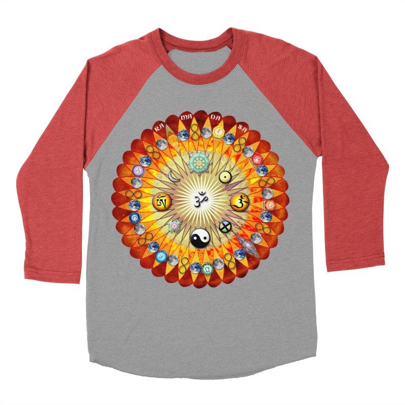 Ra Ma Da Sa Sa Say So Hung Mandala Women's Baseball Triblend Longsleeve T-Shirt by InspiredPsychedelics's Artist Shop