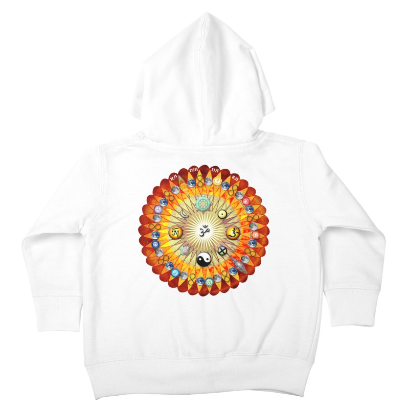Ra Ma Da Sa Sa Say So Hung Mandala Kids Toddler Zip-Up Hoody by InspiredPsychedelics's Artist Shop