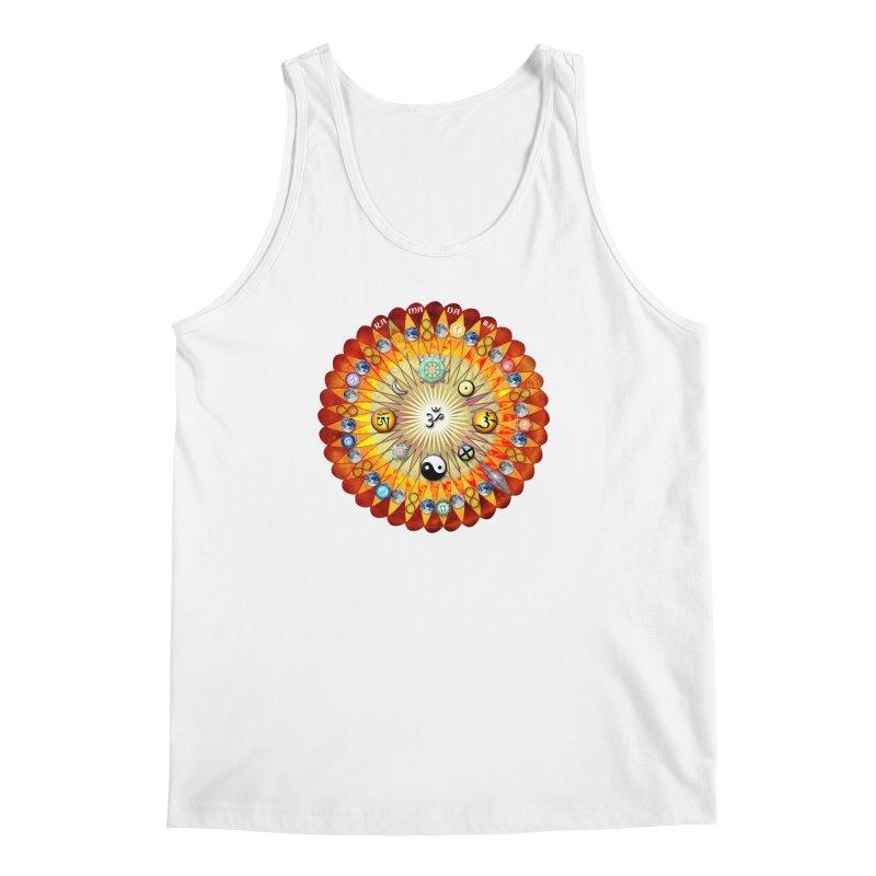 Ra Ma Da Sa Sa Say So Hung Mandala Men's Regular Tank by InspiredPsychedelics's Artist Shop