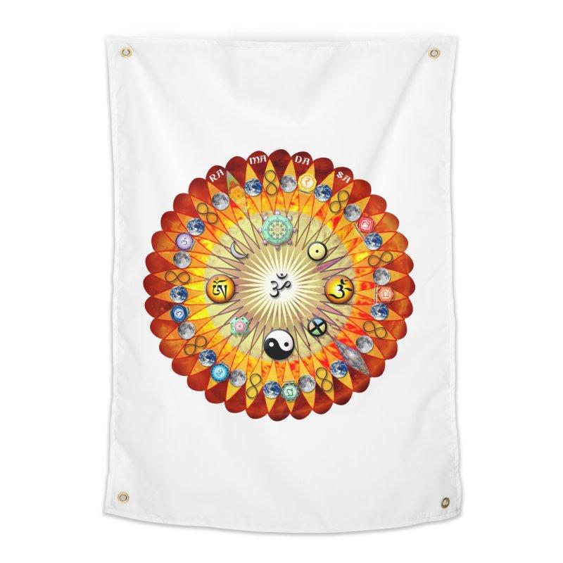 Ra Ma Da Sa Sa Say So Hung Mandala Home Tapestry by InspiredPsychedelics's Artist Shop