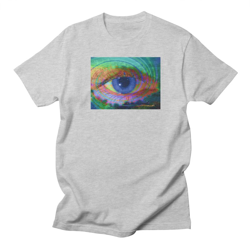 Blue Night Eye: Part of the Eye Series Women's Regular Unisex T-Shirt by InspiredPsychedelics's Artist Shop