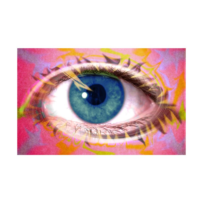 Feathery Eye: Part of the Eye Series by InspiredPsychedelics's Artist Shop