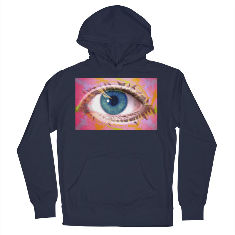Feathery Eye: Part of the Eye Series Women's Pullover Hoody by InspiredPsychedelics's Artist Shop
