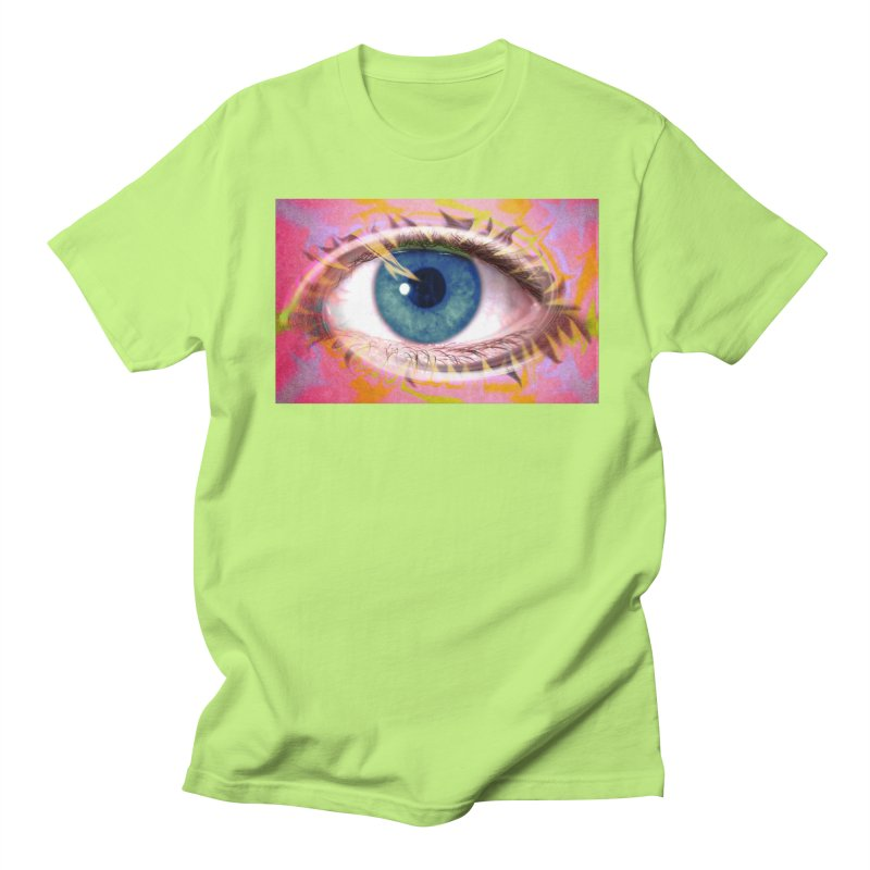 Feathery Eye: Part of the Eye Series Women's Unisex T-Shirt by InspiredPsychedelics's Artist Shop
