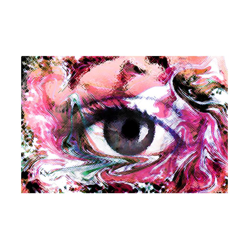 Eye Fancy Pink: Part of the Eye Series by InspiredPsychedelics's Artist Shop