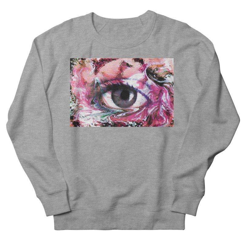 Eye Fancy Pink: Part of the Eye Series Women's Sweatshirt by InspiredPsychedelics's Artist Shop