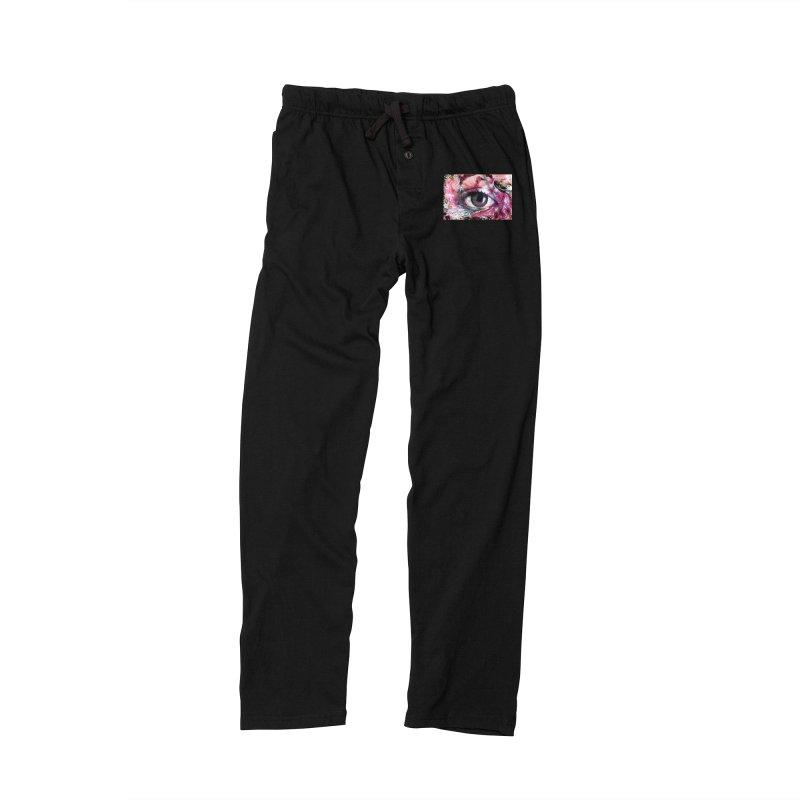Eye Fancy Pink: Part of the Eye Series Women's Lounge Pants by InspiredPsychedelics's Artist Shop