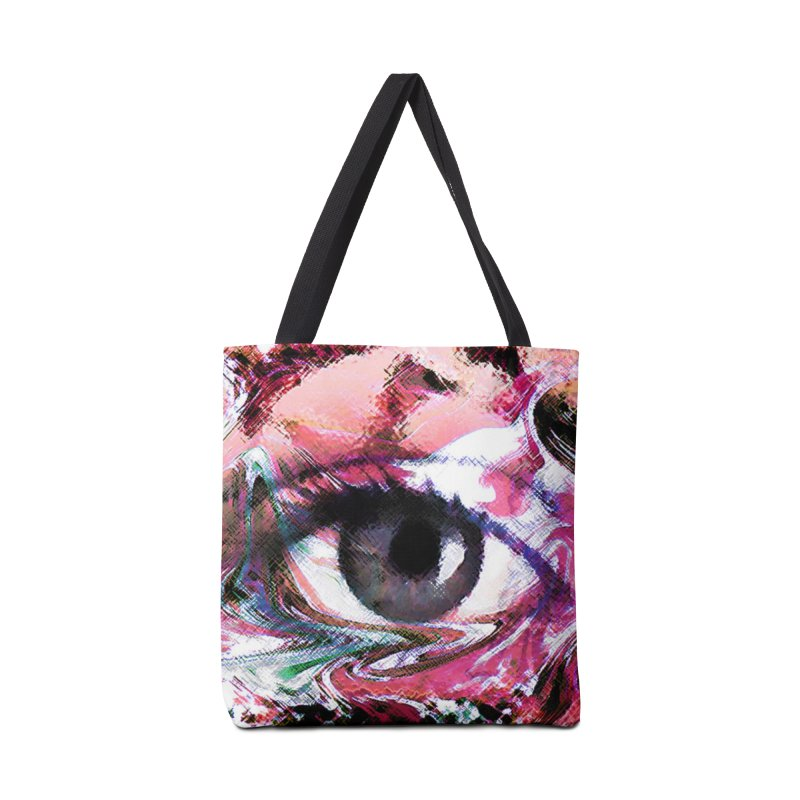 Eye Fancy Pink: Part of the Eye Series Accessories Bag by InspiredPsychedelics's Artist Shop