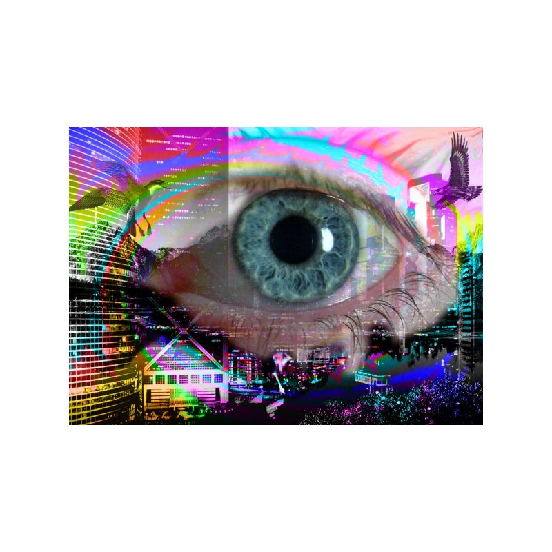 Eye on the City: Part of the Eye Series by InspiredPsychedelics's Artist Shop