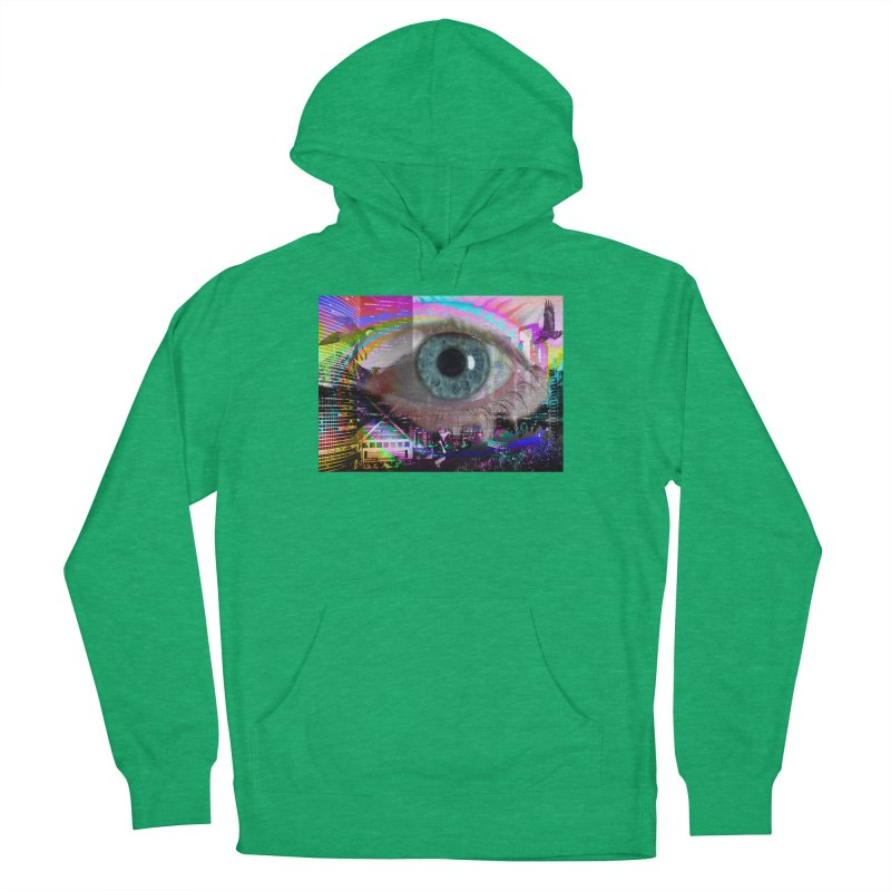 Eye on the City: Part of the Eye Series Women's Pullover Hoody by InspiredPsychedelics's Artist Shop