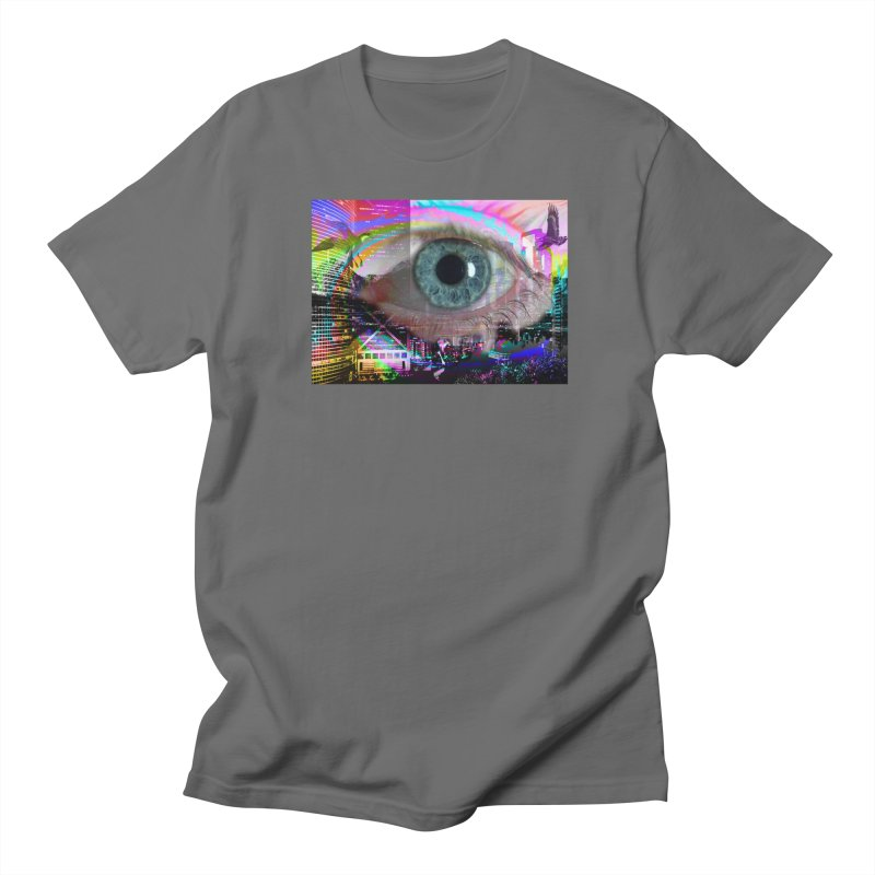 Eye on the City: Part of the Eye Series Women's Unisex T-Shirt by InspiredPsychedelics's Artist Shop