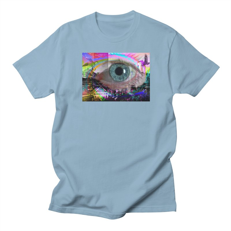 Eye on the City: Part of the Eye Series Women's Regular Unisex T-Shirt by InspiredPsychedelics's Artist Shop