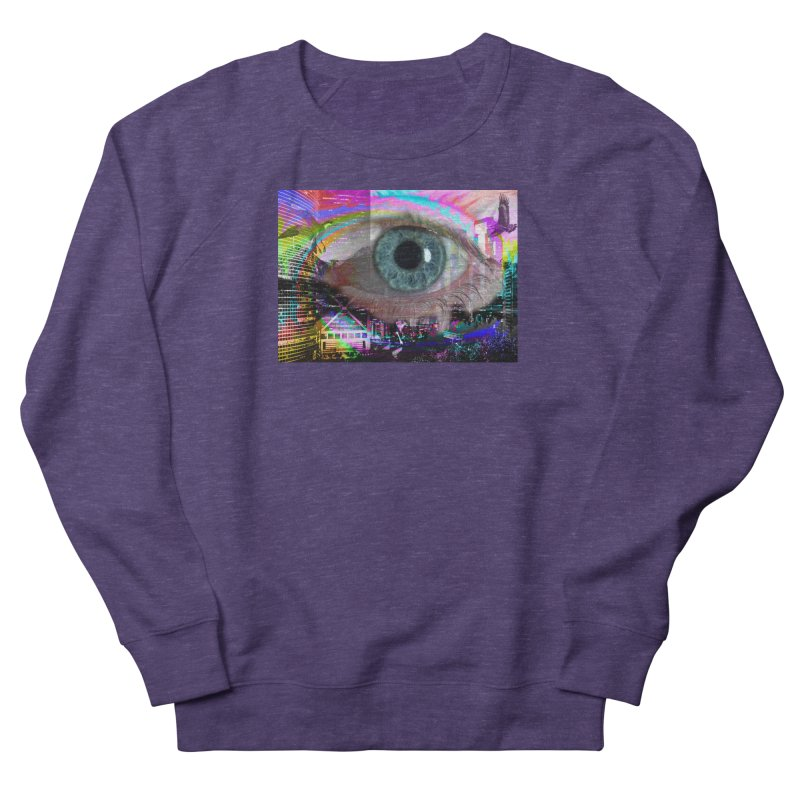 Eye on the City: Part of the Eye Series Women's Sweatshirt by InspiredPsychedelics's Artist Shop