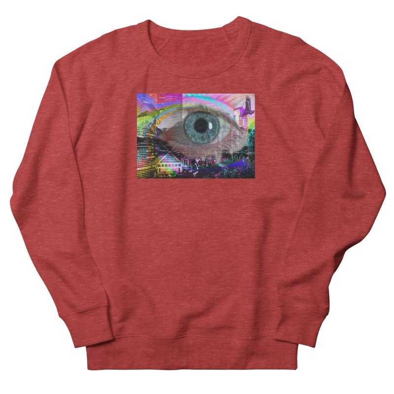 Eye on the City: Part of the Eye Series Women's French Terry Sweatshirt by InspiredPsychedelics's Artist Shop