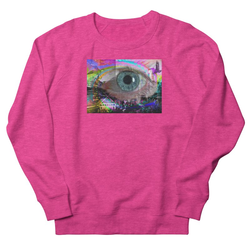 Eye on the City: Part of the Eye Series Men's Sweatshirt by InspiredPsychedelics's Artist Shop