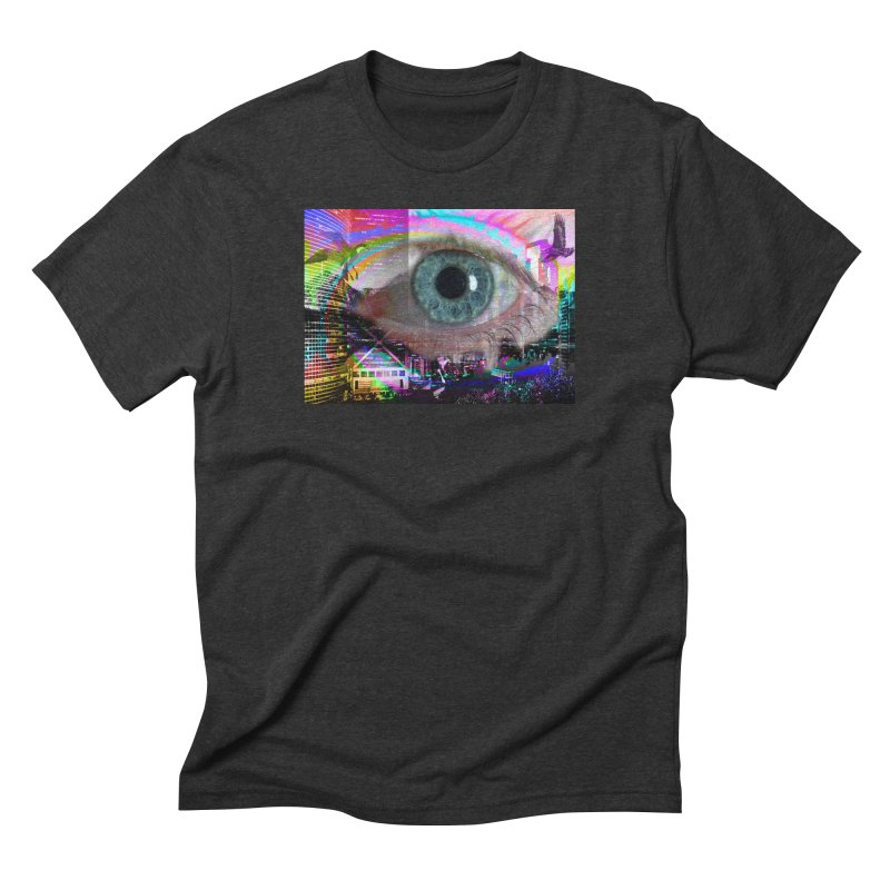 Eye on the City: Part of the Eye Series Men's Triblend T-Shirt by InspiredPsychedelics's Artist Shop