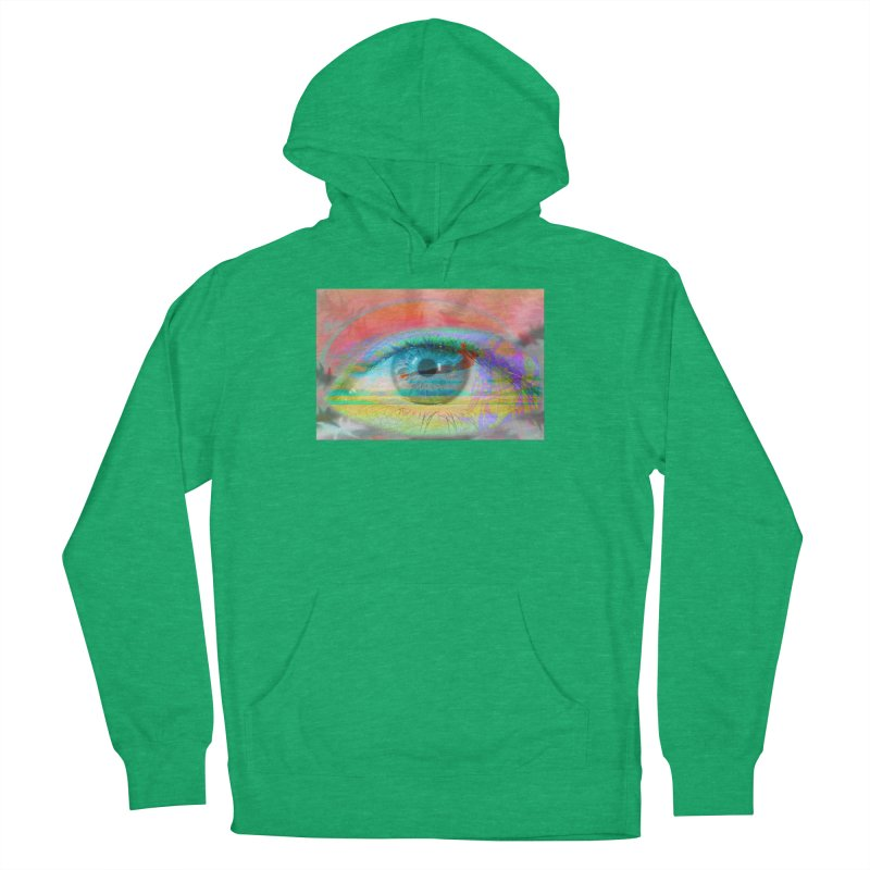 Twilight Eye: Part of the Eye Series Women's French Terry Pullover Hoody by InspiredPsychedelics's Artist Shop