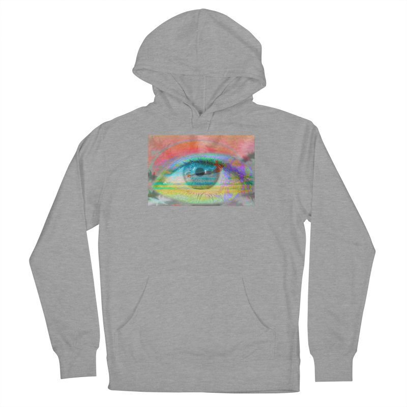 Twilight Eye: Part of the Eye Series Women's Pullover Hoody by InspiredPsychedelics's Artist Shop