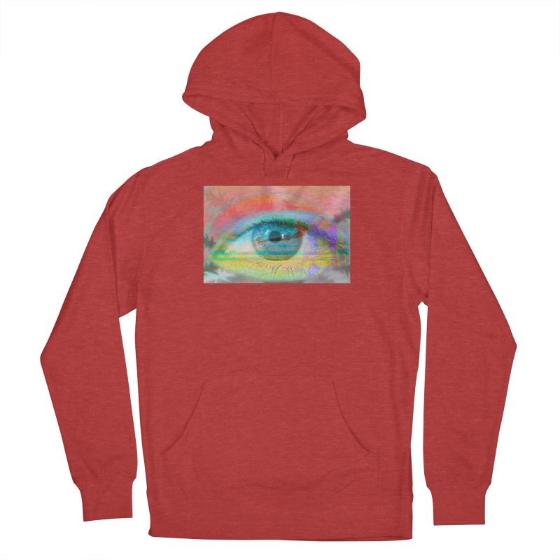 Twilight Eye: Part of the Eye Series Men's Pullover Hoody by InspiredPsychedelics's Artist Shop
