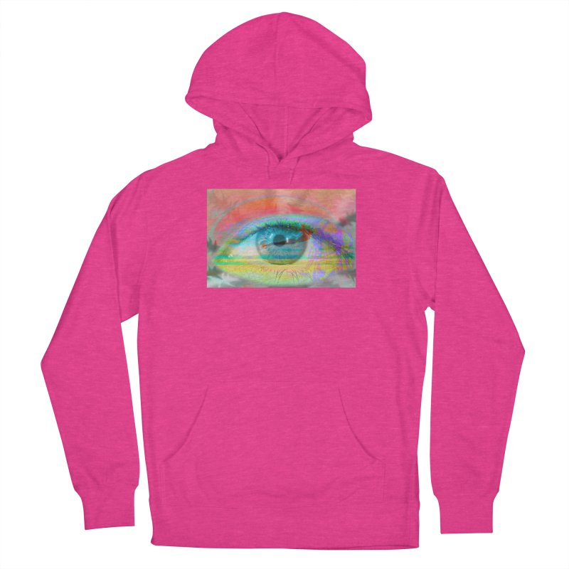 Twilight Eye: Part of the Eye Series Men's French Terry Pullover Hoody by InspiredPsychedelics's Artist Shop