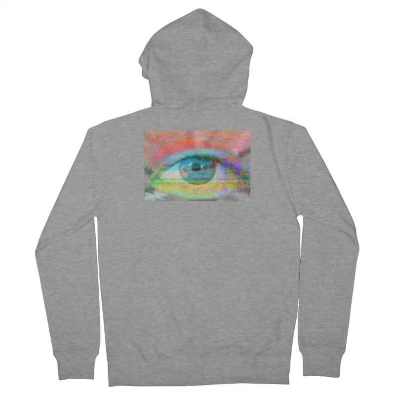 Twilight Eye: Part of the Eye Series Women's Zip-Up Hoody by InspiredPsychedelics's Artist Shop