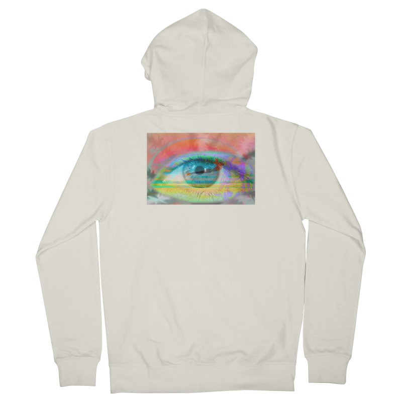 Twilight Eye: Part of the Eye Series Women's French Terry Zip-Up Hoody by InspiredPsychedelics's Artist Shop