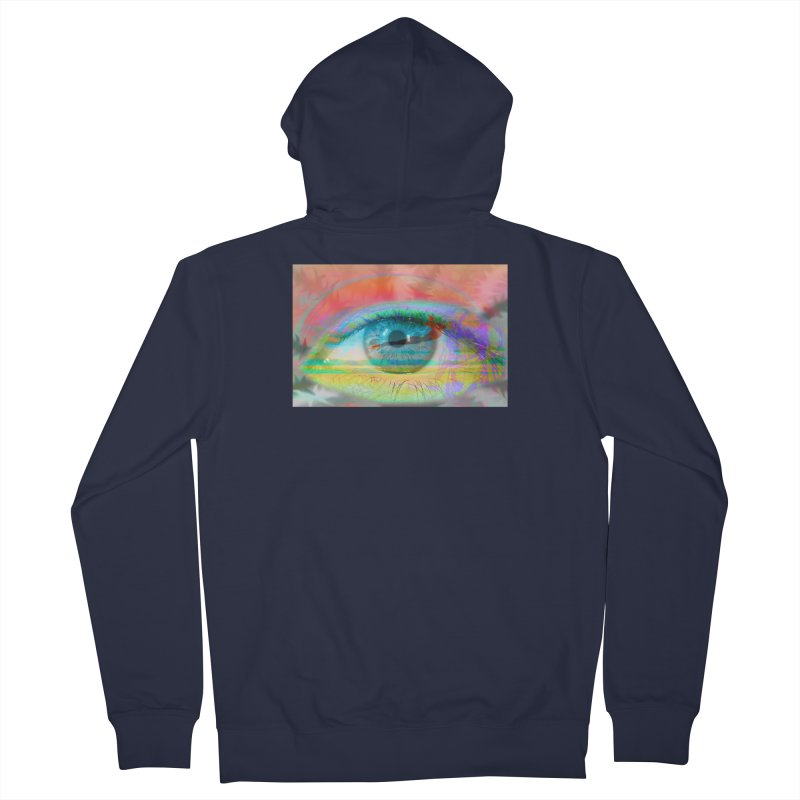 Twilight Eye: Part of the Eye Series Women's Zip-Up Hoody by InspiredPsychedelics's Artist Shop