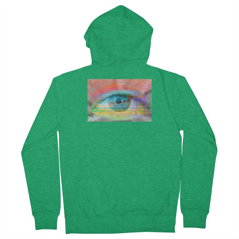 Twilight Eye: Part of the Eye Series Men's Zip-Up Hoody by InspiredPsychedelics's Artist Shop
