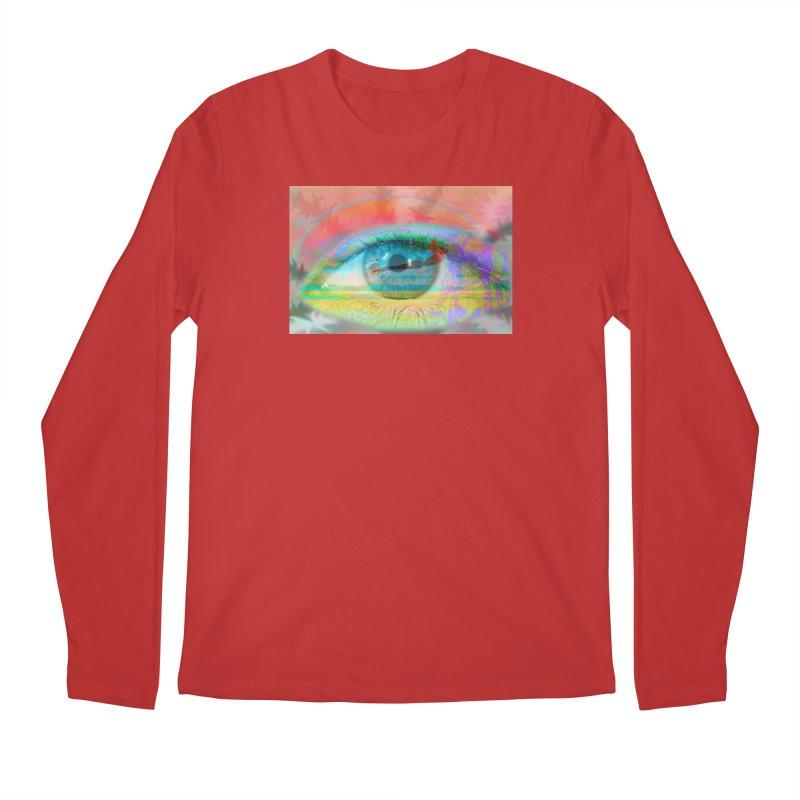 Twilight Eye: Part of the Eye Series Men's Longsleeve T-Shirt by InspiredPsychedelics's Artist Shop