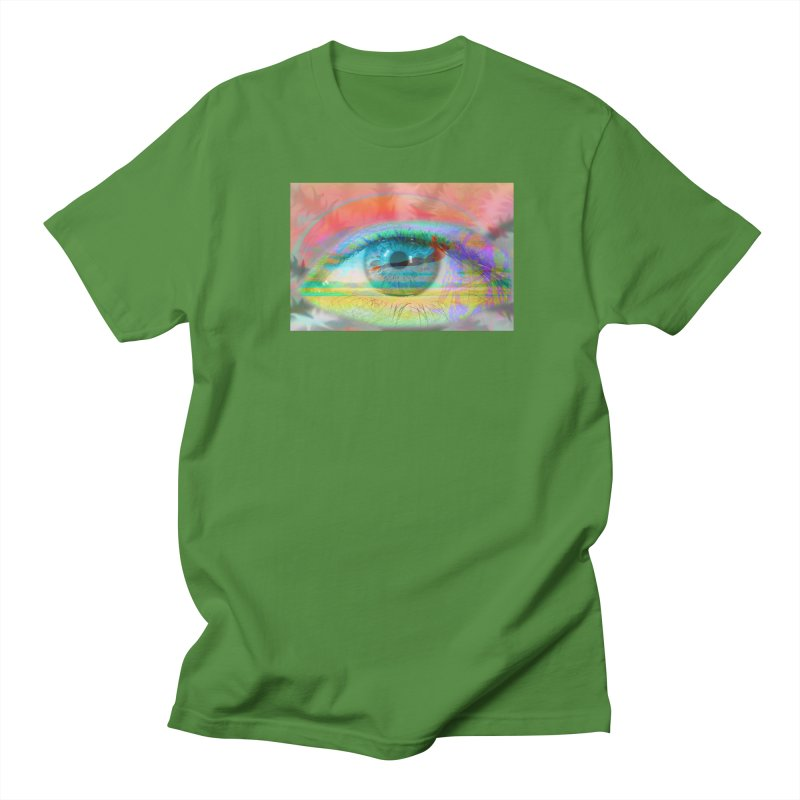Twilight Eye: Part of the Eye Series Men's T-Shirt by InspiredPsychedelics's Artist Shop