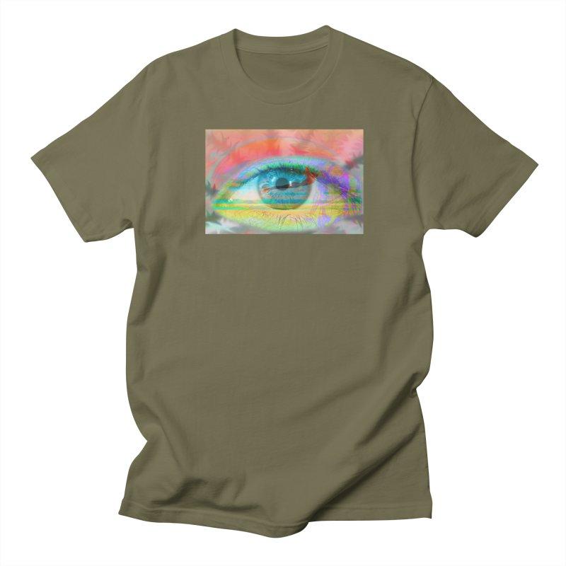 Twilight Eye: Part of the Eye Series Women's Regular Unisex T-Shirt by InspiredPsychedelics's Artist Shop