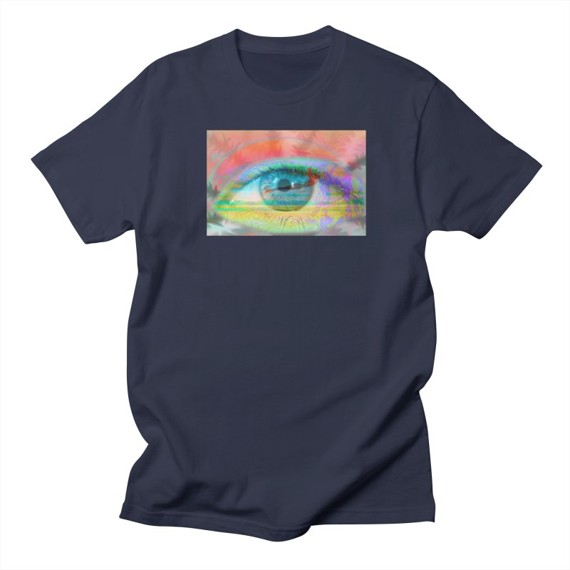 Twilight Eye: Part of the Eye Series Women's Unisex T-Shirt by InspiredPsychedelics's Artist Shop