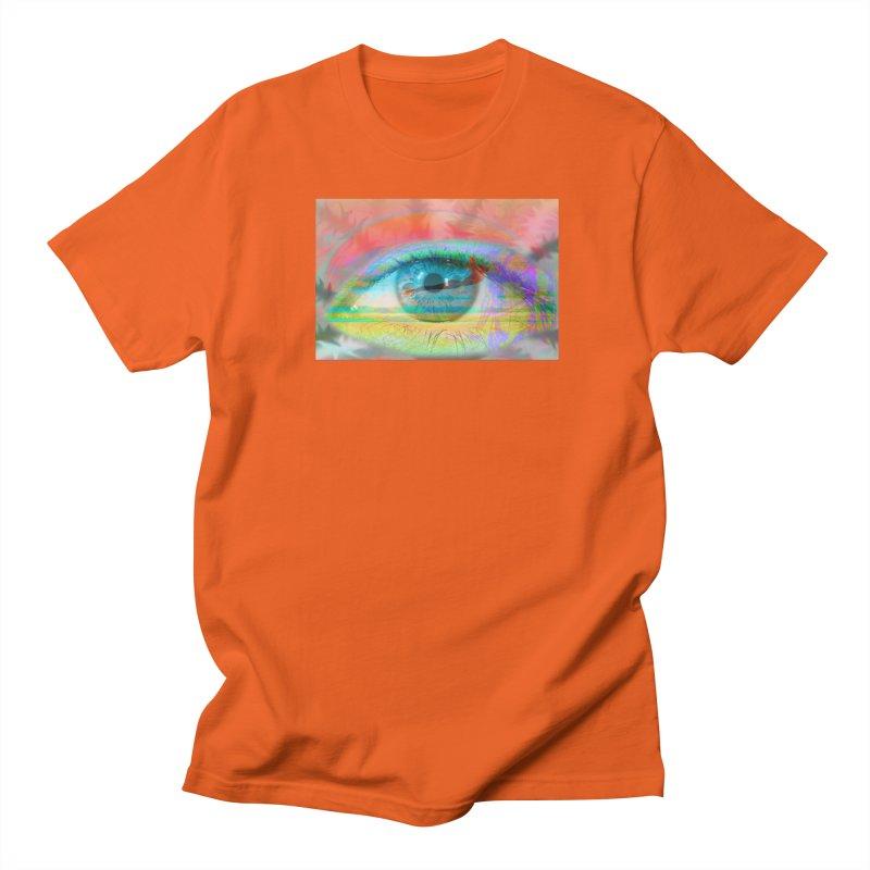 Twilight Eye: Part of the Eye Series Men's Regular T-Shirt by InspiredPsychedelics's Artist Shop