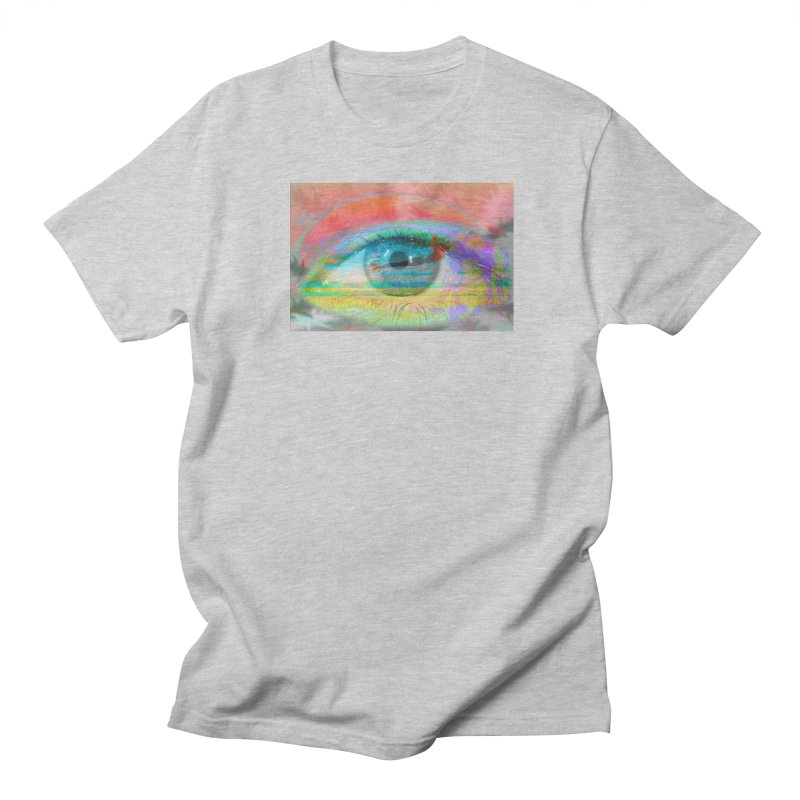 Twilight Eye: Part of the Eye Series Women's Regular Unisex T-Shirt by InspiredPsychedelics's Artist Shop