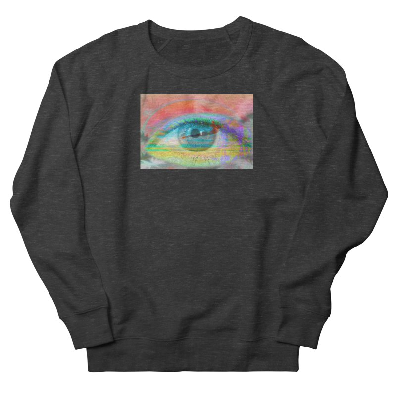 Twilight Eye: Part of the Eye Series Women's French Terry Sweatshirt by InspiredPsychedelics's Artist Shop