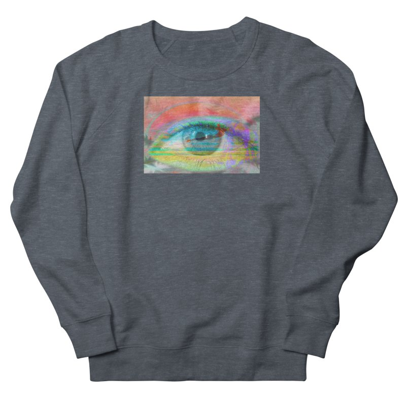 Twilight Eye: Part of the Eye Series Women's Sweatshirt by InspiredPsychedelics's Artist Shop