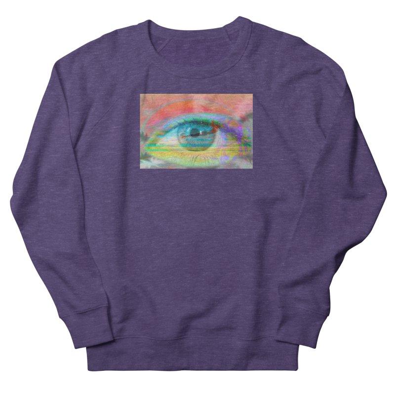 Twilight Eye: Part of the Eye Series Men's Sweatshirt by InspiredPsychedelics's Artist Shop